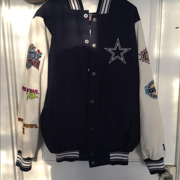RARE VNTG Dallas Cowboy Super bowl varsity jacket.  M 5a74d4079d20f031c1560cce 35e3adb90